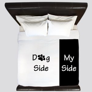 Dog Side My Side Bed Bath Cafepress