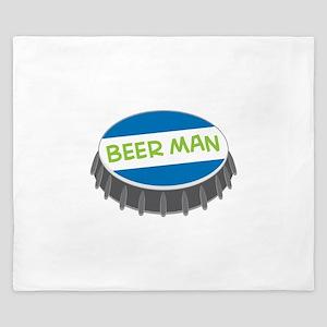 Beer Man King Duvet