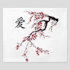 Cherry Blossom King Duvet