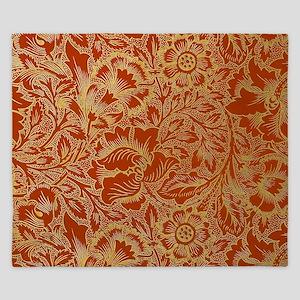 William Morris Poppy Design King Duvet