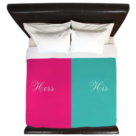 His And Hers King Duvet By Inspirationzstore