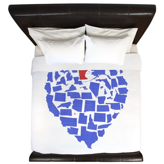 Heart USA States Minnesota
