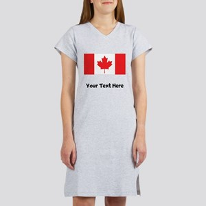 Canadian Flag Women's Nightshirt