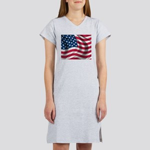 USA Flag Women's Nightshirt