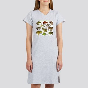 Frogs of North America Women's Nightshirt