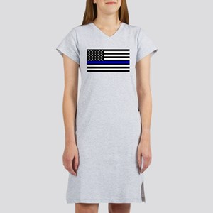 Police: Black Flag & The Thin Blue Line Women's Ni