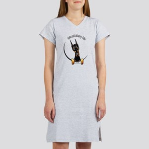 Doberman IAAM Women's Nightshirt