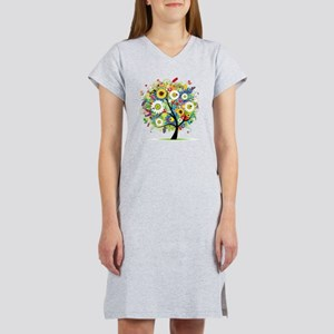 Trees5 [Converted] Women's Nightshirt