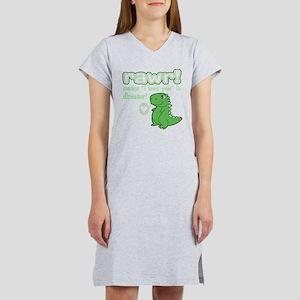 Cute! RAWR Means Love Women's Nightshirt