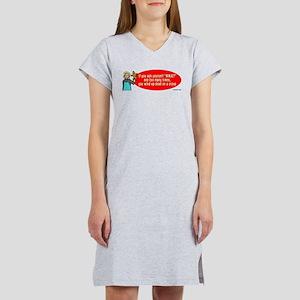 Ask WWJD Too Often . . . Women's Nightshirt