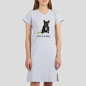 French Bulldog Life Women's Nightshirt