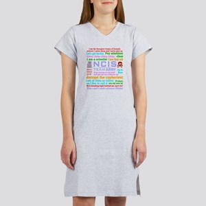NCIS Abby Quotes Women's Nightshirt