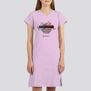 Rise Above Women's Nightshirt