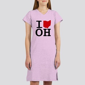I Heart Ohio Women's Nightshirt