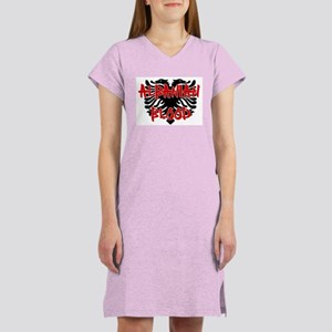 Albanian Blood Women's Nightshirt