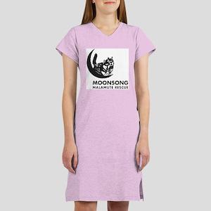 Moonsong Malamute Rescue Women's Nightshirt