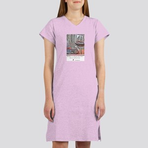 Red Wine Lover Women's Nightshirt