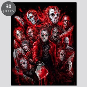 12 Jasons Friday the 13th Puzzle