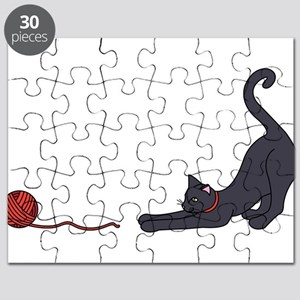 Cat and Yarn Puzzle