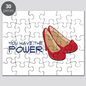 Ruby Slipper Power Puzzle