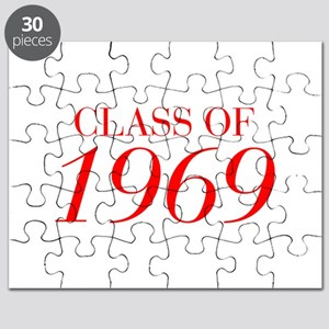CLASS OF 1969-Bau red 501 Puzzle