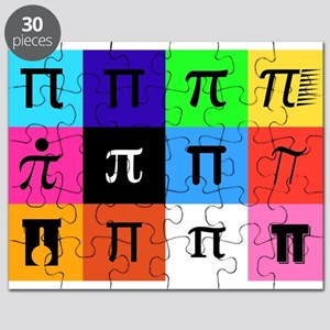 colorblock happy pi day Puzzle