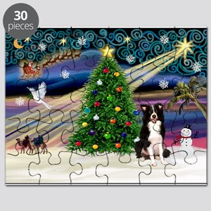 XmasMagic/Border Collie Puzzle