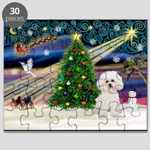 Xmas Magic & Bichon #2 Puzzle