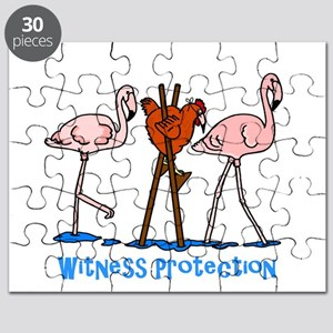 Witness Protection Flamingos and Chicken Puzzle