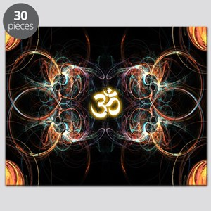 om poster Puzzle