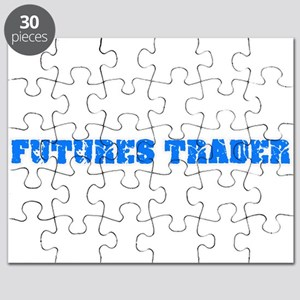Futures Trader Blue Bold Design Puzzle
