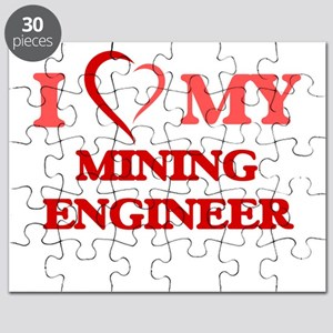 I love my Mining Engineer Puzzle