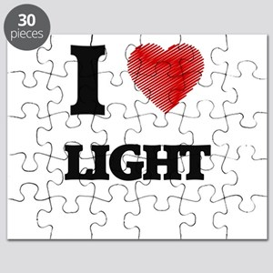 I Love Light Puzzle