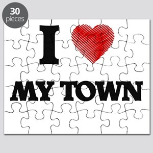 I love My Town Puzzle