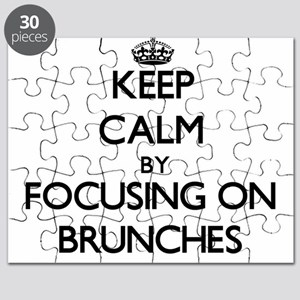 Keep Calm by focusing on Brunches Puzzle