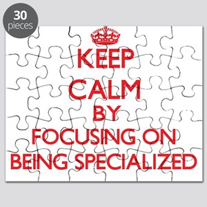 Being Specialized Puzzle