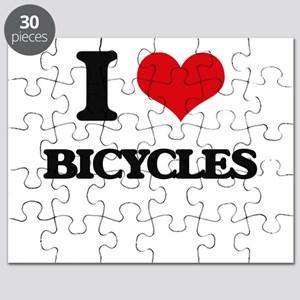 I Love Bicycles Puzzle