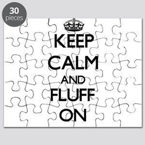 Keep Calm and Fluff ON Puzzle