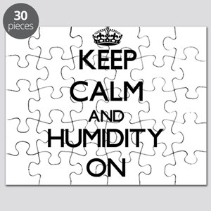 Keep Calm and Humidity ON Puzzle