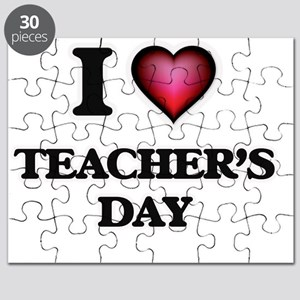 I love Teacher'S Day Puzzle