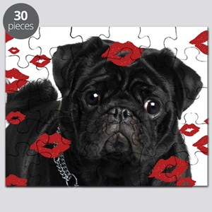 Pugs and Kisses 5x7 Puzzle