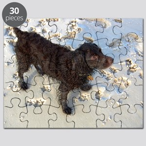 Scully with Pawprints Puzzle