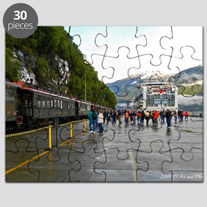 Railway and Cruise Ship Puzzle