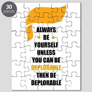 Always Be Deplorable Puzzle