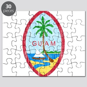 Guam Coat Of Arms Puzzle