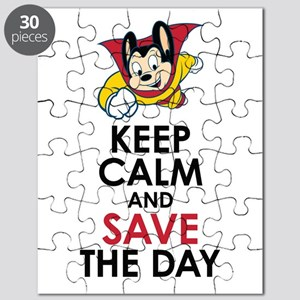 Keep Calm Mighty Mouse Puzzle
