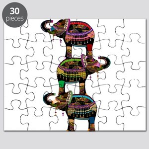 Egyptian elephant art Puzzle