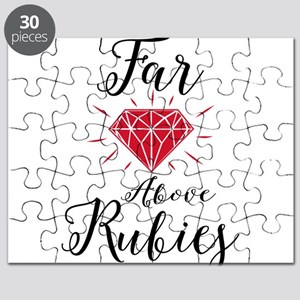 Far Above Rubies Puzzle