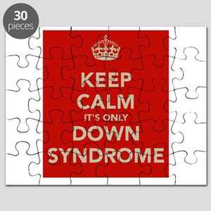 Kee Calm It's Only Down Syndrome Puzzle