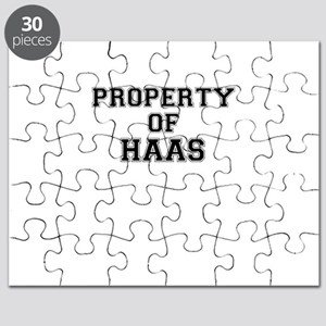 Property of HAAS Puzzle